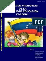 Unidades Operativas de La Modalidad de Educacion Especial-libre