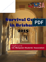 UQMSA Survival Guide 2015