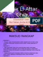 Syair Li Attar Ghib-fatin