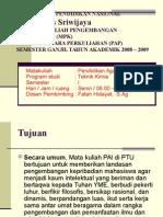 Silabus Perkuliahan MPK PAI Teknik Kimia 2008-2009