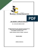INFORME GEOTÉCNICO PARA VIABILIDAD DE TRAZADO DE VIA