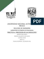 Práctica 4 Dinámica de Maquinaria Facultad de Ingeniería