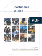 The Darling-Kooyenga Plan For Combating Poverty in Milwaukee