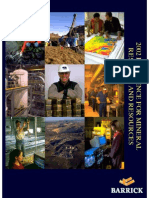 Refference for mineral reserves and resources