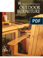 The Art of Woodworking - Outdoor Furniture