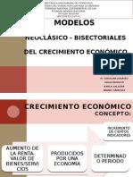Expo de Teoria de Crec Econo-modelos Neocla y Bisider