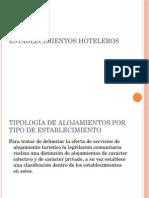 Establecimientos hoteleros