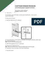 Sv50u_le440u Software Upgrade Procedure