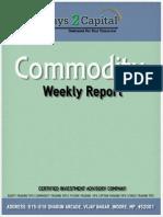Commodity Report - Ways2Capital - 27 Jan '15