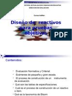 Presentación Elaboración de Reactivos.