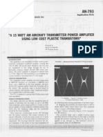 AN793 15w RF Power Amp