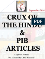 Crux of Hindu and Pib Vol 01