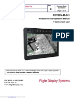 Flight Display System Installation, Fd70cvmc1