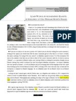 Basello, Gian Pietro, 2003, Loan-words in Achaemenid Elamite