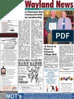 The Wayland News February 2015