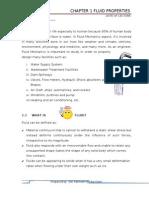 Introduction of fluid properties