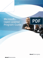Open License Program Guide