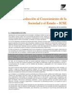 ICSE - Programa Intensiva