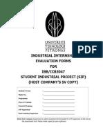 Evaluation Booklet SIP_IBB3047_HC SV