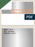 Hernia Inguinalis Dextra Reponibel