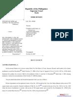 De Los Santos v. Vda. de Mangubat, G.R. No. 149508, October 10, 2007 , 535 SCRA 411