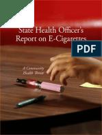 State Health e Cig Report