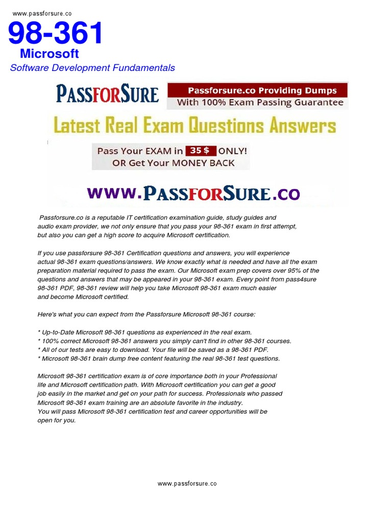 Free 98 361 exam questions pdf microsoft test assessment free 98 361 exam questions pdf microsoft test assessment application software xflitez Gallery