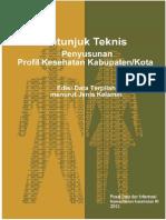 Petunjuk Teknis Penyusunan Profil Kesehatan Kab Kota 4