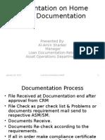 Presentation on Home Loan Documentation