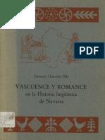 Romance y Vascuence