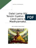 Dalai Lama XIV Tenzin Gyatso Una LLave para el Madhyamaka..docx