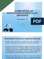 109450029 Adrian Mitroi Alocarea Activelor