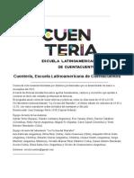 Cuentería,  Escuela Latinoamericana de Cuentacuentos