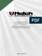 Spare Parts Catalog MIG-MAG