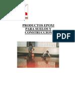 PRODUCTOS EPOXI PARA SUELOS Y CONSTRUCCION