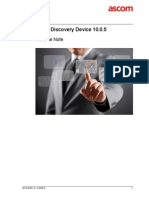 TEMS Discovery Device 10.0.5 Release Note
