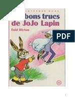 Blyton Enid Jojo Lapin Les bons trucs de Jojo Lapin.doc