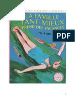 Blyton Enid La famille tant Mieux 4 La Famille Tant Mieux  prend des vacances 1950.doc