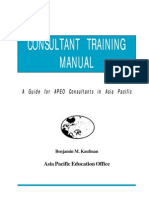 Consultant Training Manual