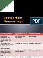 Postpartum Hemorrhagic