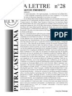 Lettre 28 Petra castellanna