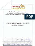 2013-3200-1H-0102 Rev 0 Piping Stress Analysis Design Basic-CL Approval