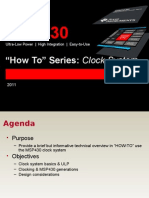 MSP430 How to Clocks