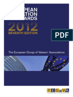 Valuation Standards 2012 (for European Countries)
