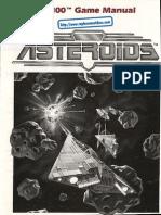 Asteroids - Manual