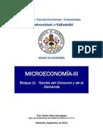 microeconomía consomoDocumento 1