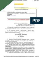 Regulamenta as Atividades - Desenv. da Agricultura Orgânica_Decreto n° 6.323 de 27.12.2007