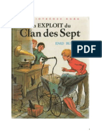 Blyton Enid Le Clan des Sept 5 Nouvelle Version Un Exploit du Clan des Sept 1953.doc