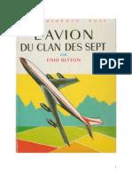 Blyton Enid Le Clan des Sept 8 L'avion du Clan des Sept 1956.doc