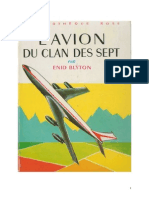 Blyton Enid Le Clan des Sept 8 L'avion du Clan des Sept 1956.doc